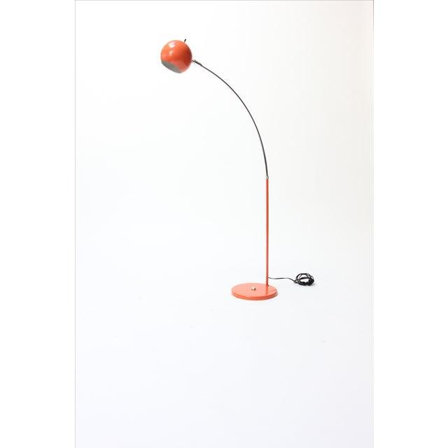 Vintage Orange Arc Lamp - Image 2 of 11