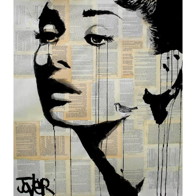 Loui Jover Print - And Her Bird Can Sing - Image 2 of 2