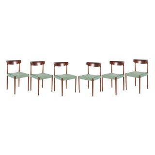 Danish Dining Chairs by Knud Faerch - Set of 6
