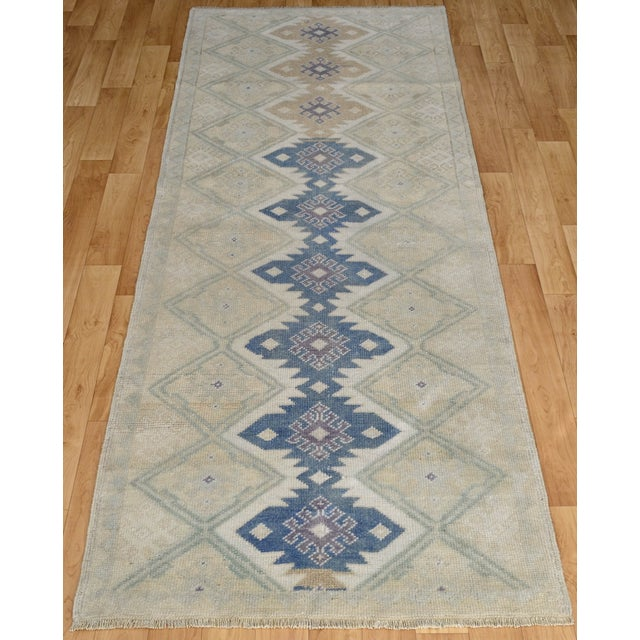 "Hand-Knotted Turkish Rug - 2'8"" x 6'9"" - Image 3 of 9"