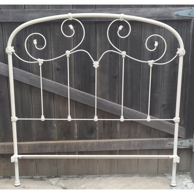 Image of Full Sized Iron Bedframe by Brass Beds of Virginia
