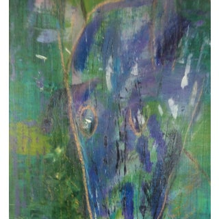 Animal in the Woods Abstract Painting