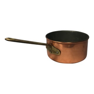 Portuguese Copper & Brass Pan