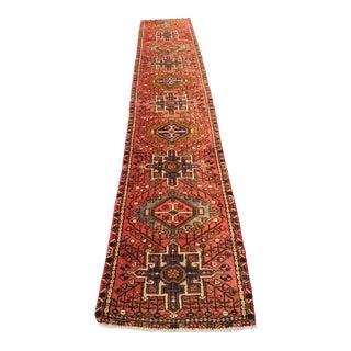 """Vintage Persian Karajeh Runner - 2'2"""" x 11'9"""""""