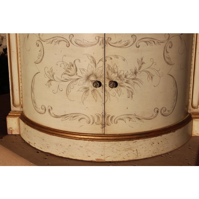 Karges Painted Demilune Nightstand - Pair - Image 9 of 11