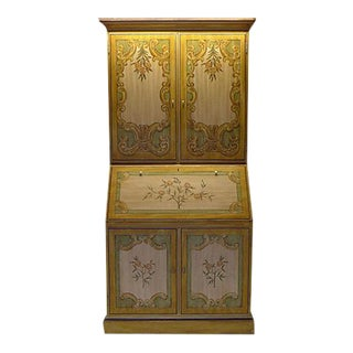French Country Style Secretary/Highboy