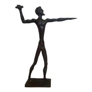 Bronze Zeus Sculpture