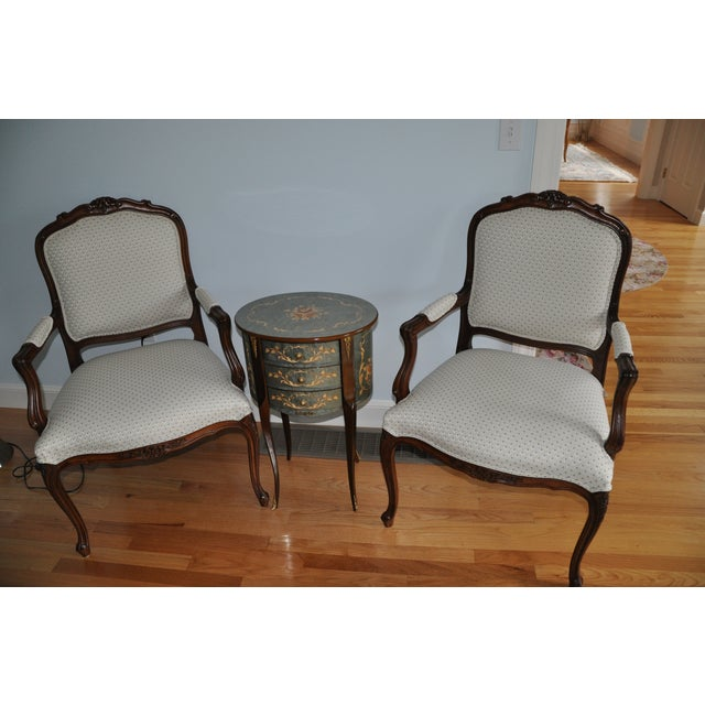 Ethan Allen French Duvall Chair - Image 2 of 3