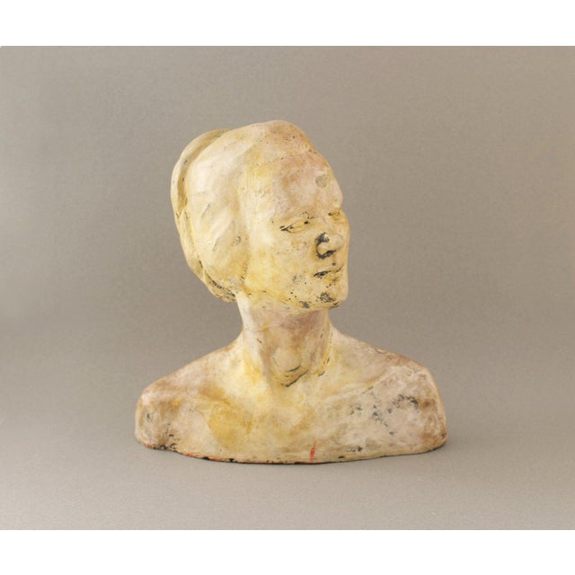 Vintage Handmade Bust of a Woman - Image 2 of 6