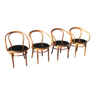 Vintage Thonet B9 Bentwood Chairs - Set of 4