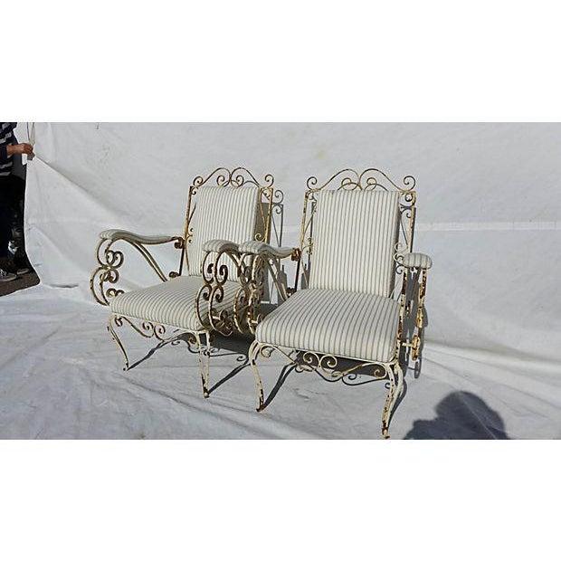 French Style Veranda Chairs - Pair - Image 2 of 7