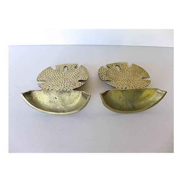 Image of Brass Seaside Sand Dollar Bookends - A Pair