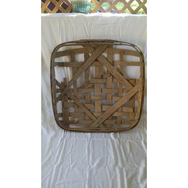 Image of Antique Tobacco Basket