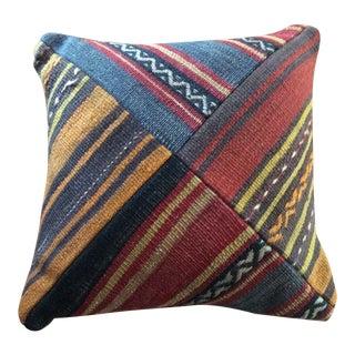 Vintage Rug Remnant Pillow