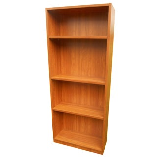 Danish Modern 5-Shelf Bookcase