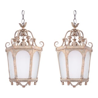 Late 19th Century French Lanterns