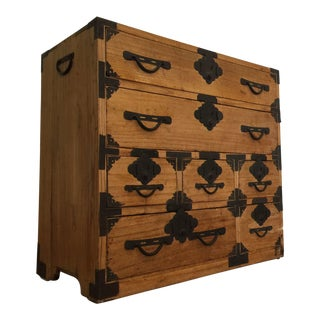 Antique Japanese Tansu Chest