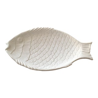 Italian Pottery Fish Platter