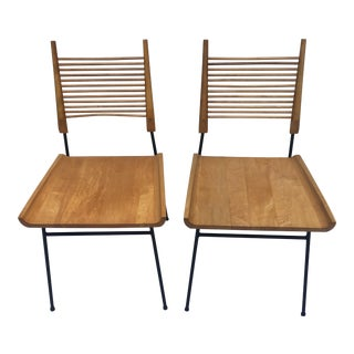 Vintage Paul McCobb Shovel Chairs - A Pair