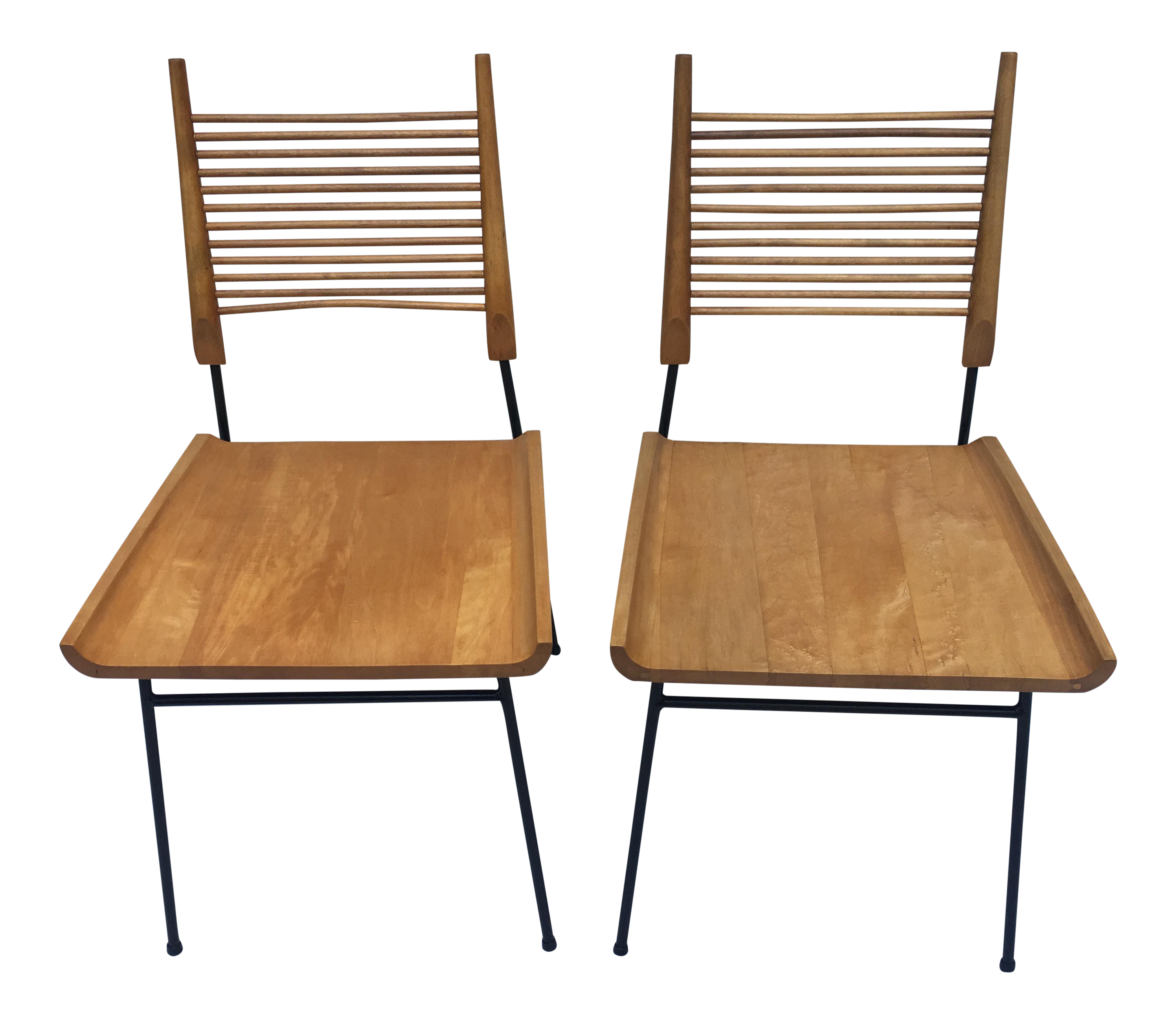 Vintage Paul McCobb Shovel Chairs   A Pair   Image 1 Of 11
