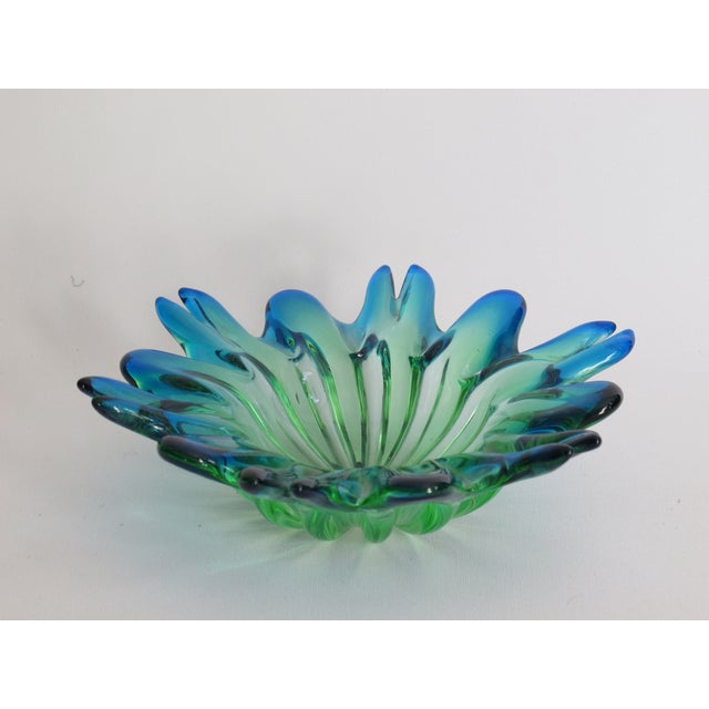 Image of Blue Ombre Murano Bowl