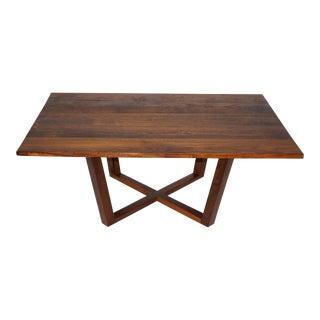 Solid Walnut Modern Coffee Table