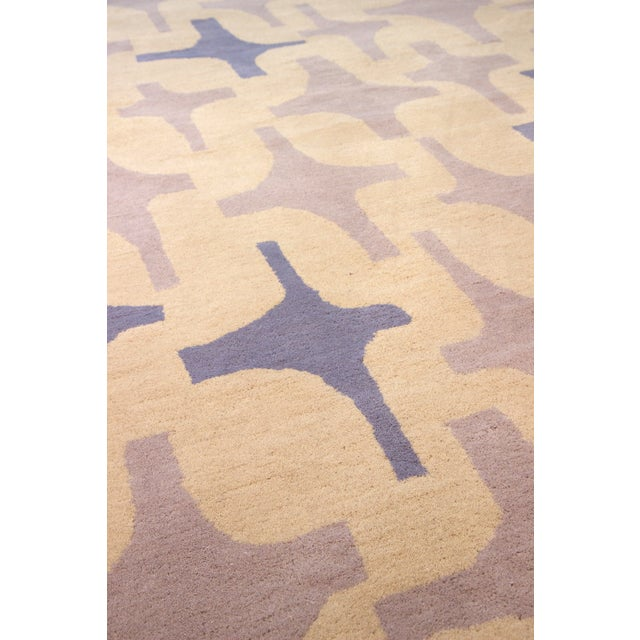 "Lotta Jansdotter Slate ""Decorativa"" Rug - 8' x 11' - Image 3 of 7"
