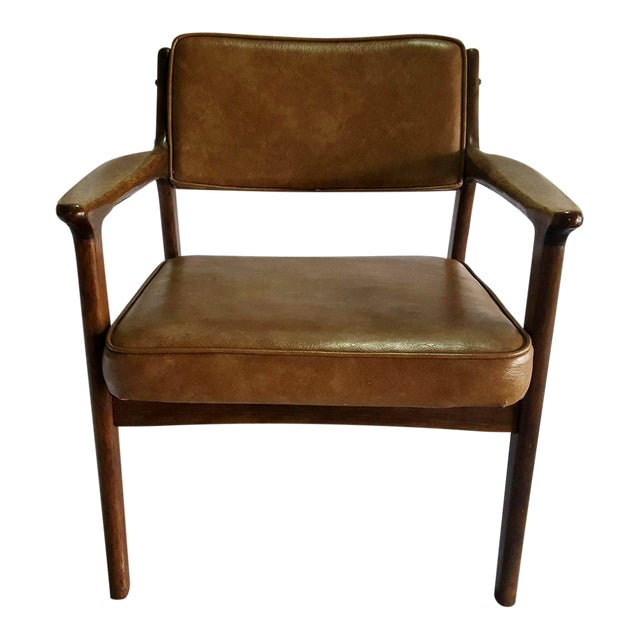 Image of Mid-Century Modern Danish Style Chair