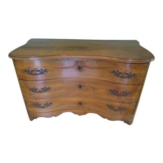 Antique French Serpentine Chest of Drawers