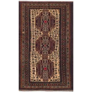 "Baluch Afghan Tribal Rug, 3'6"" x 6'4"""