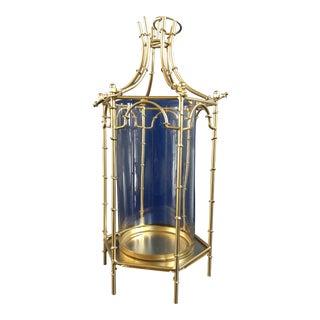 Gold Finish Pagoda Lantern