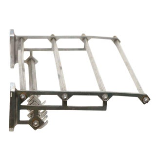 Vintage Aluminum Train Rack