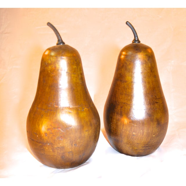 Golden Pears - A Pair - Image 2 of 3