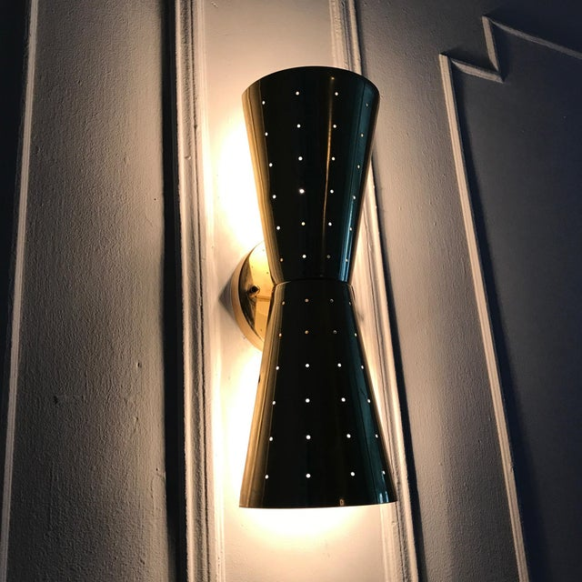 Image of Mid-Century Moe Lighting Bow Tie Sconce