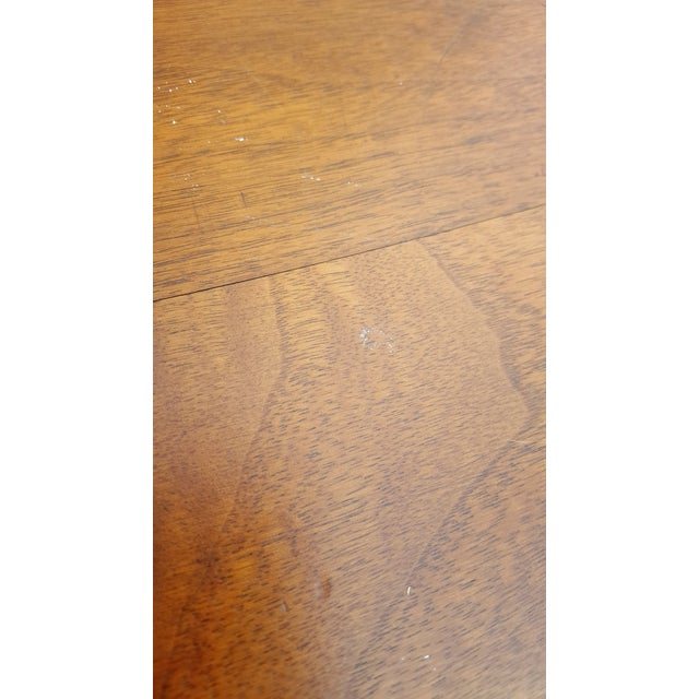 Mid-Century Walnut Gunlocke Chairs - Pair - Image 11 of 11