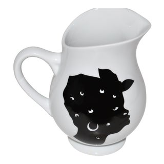 Bernardaud Kara Walker Silhouettes Limited Edition Pitcher