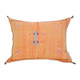 Moroccan Peach Sabra Pillow