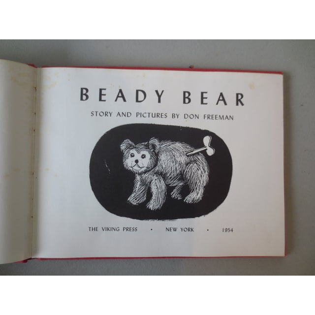 Vintage 1954 Beady Bear, 1st Edition Book - Image 5 of 8