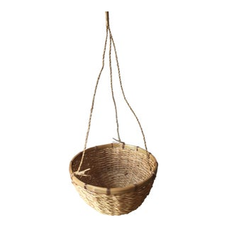 Wicker Plant Hanger