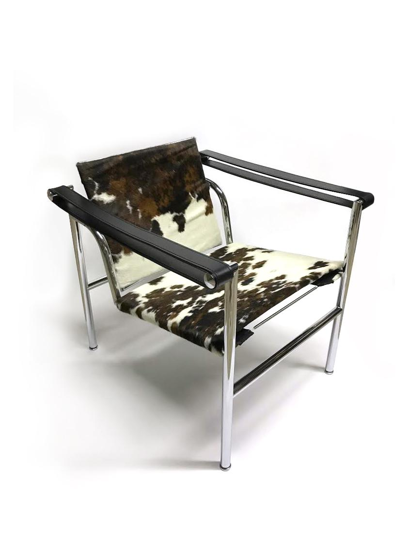 LC1 Cowhide Sling Chair   Image 2 Of 6