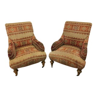 Lee Industries Arm Chairs - A Pair