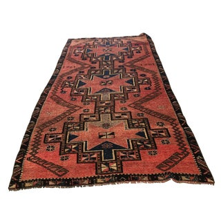Turkish Kourdish Rug - 4′8″ × 10′2″