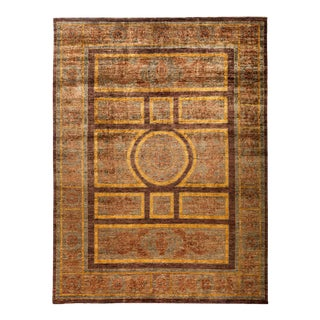 """New Hand Knotted Area Rug - 9' x 11'10"""""""