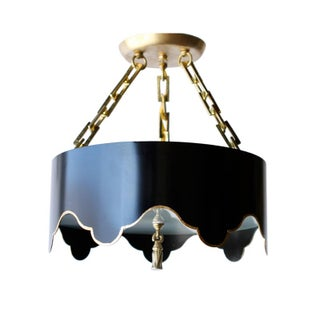 Scalloped Custom Chandelier