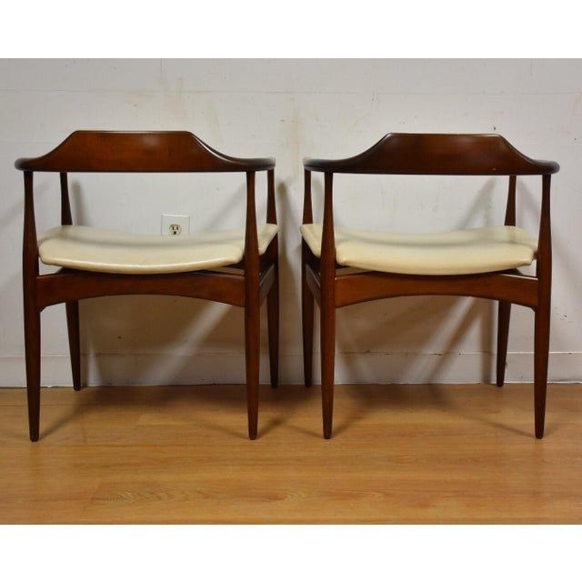 Ib Kofod Larsen for Selig Chairs - A Pair - Image 6 of 11