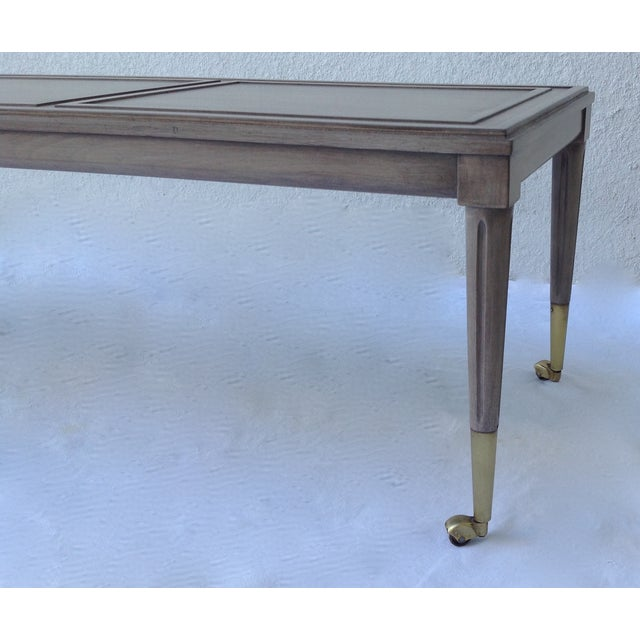 Italian Hollywood Regency Long Cocktail Table - Image 9 of 11