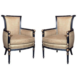 French Armchairs by Maison Jansen - A Pair