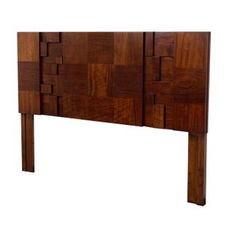 Mid-Century Lane Brutalist Queen Headboard