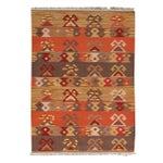 Image of Apadana Multicolor Kilim Rug - 4′9″ × 6′8″