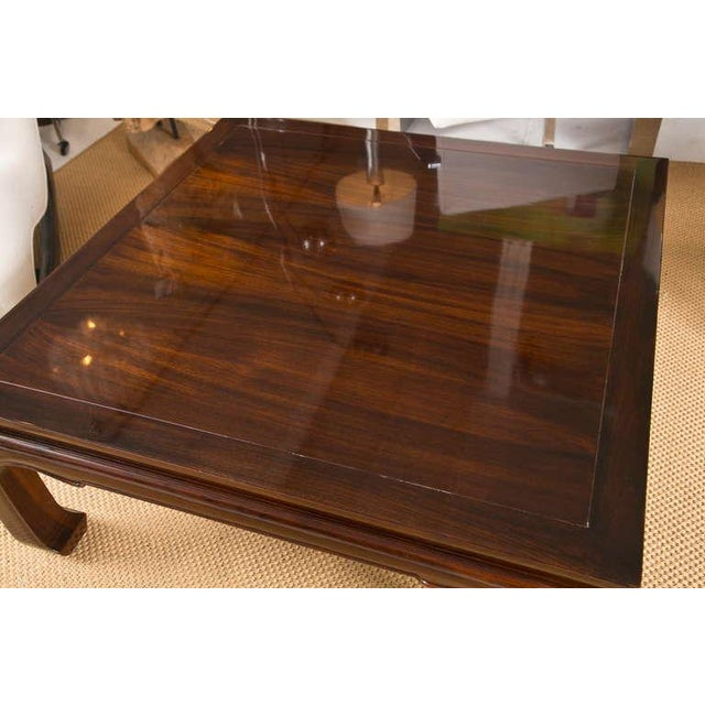 Image of Mid-Century Coffee Table in the Style of Michael Taylor